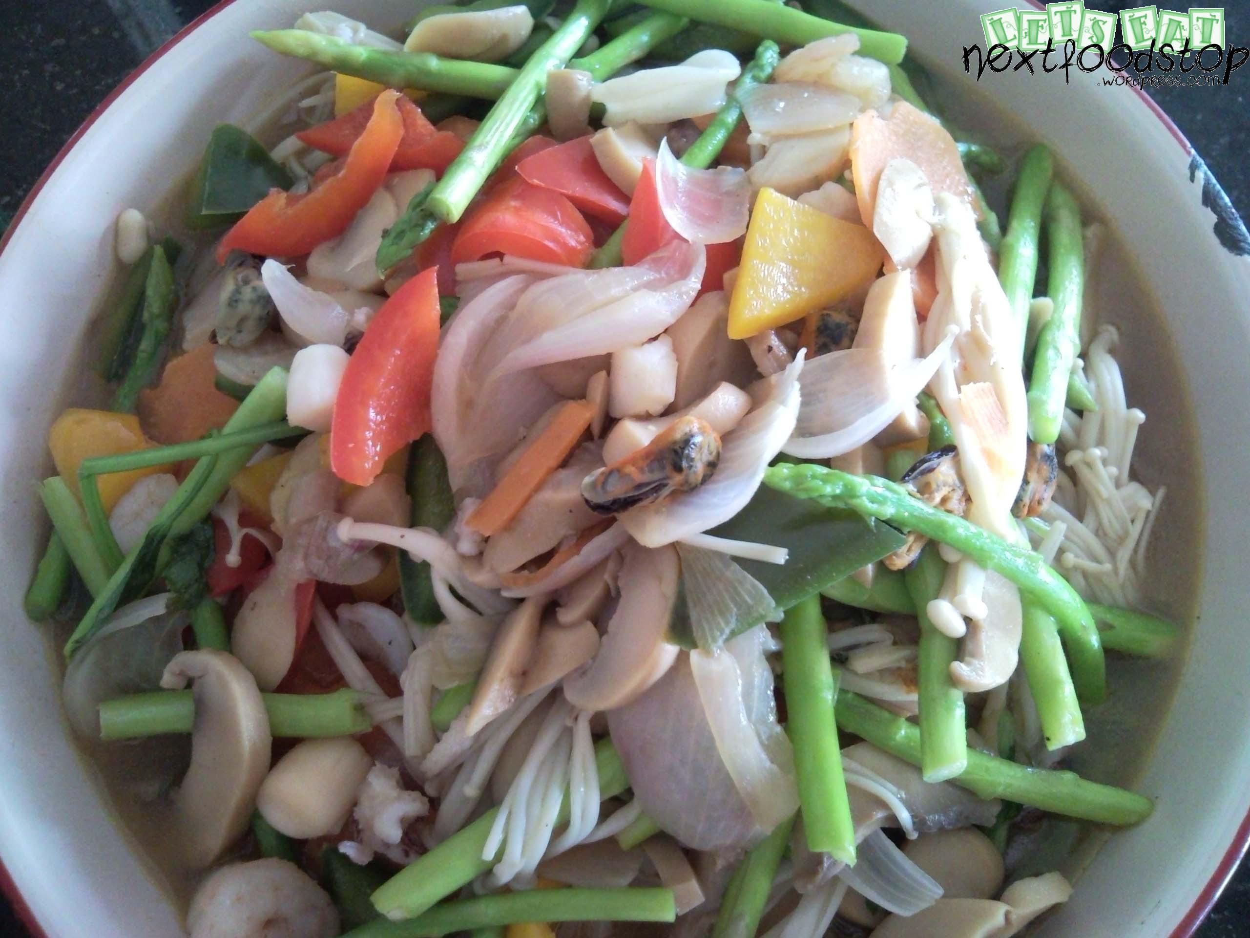 四脚豆 with sambal belacan