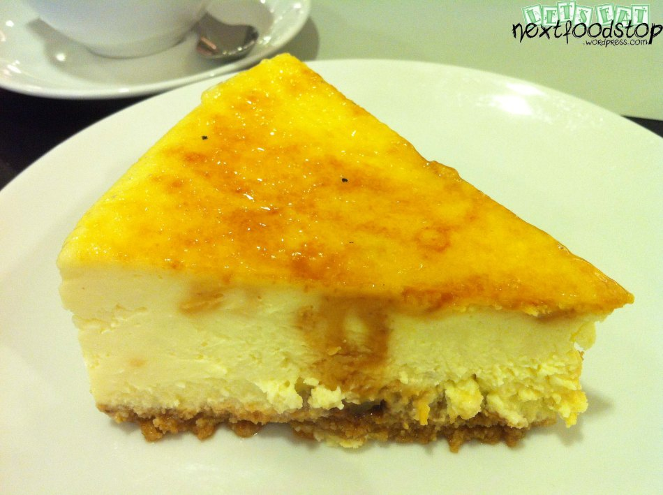 Seasalt Caramel Cheese Cake