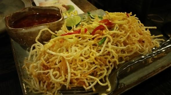 Khmer Crispy Noodles